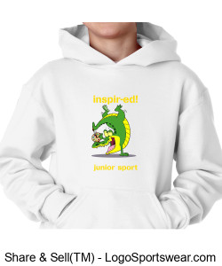 Youth Hooded Pullover Design Zoom